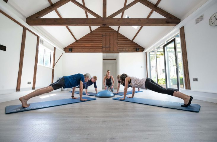 Mat pilates at The Form Practice in Hardwick near Cambridge