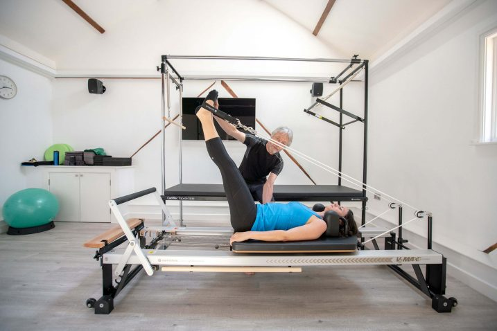 The new Pilates studio at The Form Practice in Hardwick near Cambridge with Reformer and Cadillac
