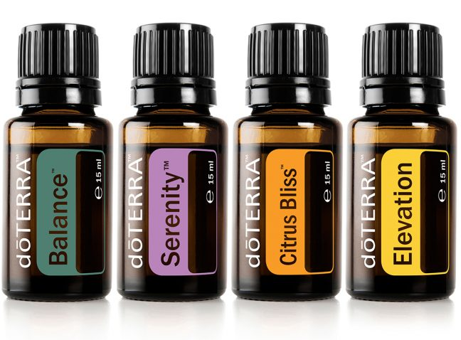 The Form Practice offers doTerra essential oils for pain relief