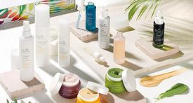 Natural skincare products by Tropic